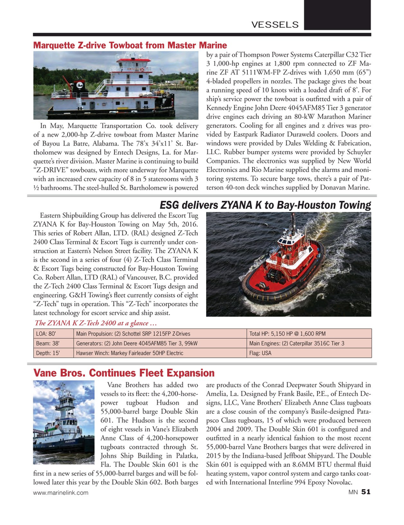 Marine News Magazine, page 51,  Jul 2016