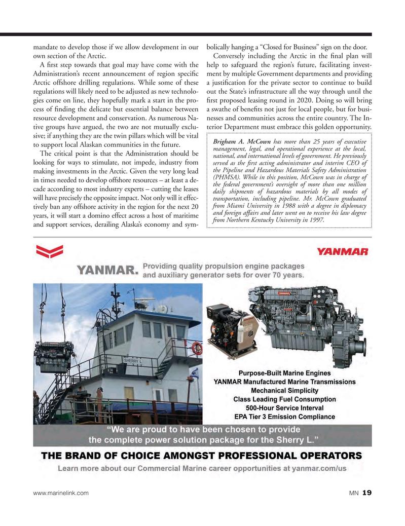 Marine News Magazine, page 19,  Oct 2016