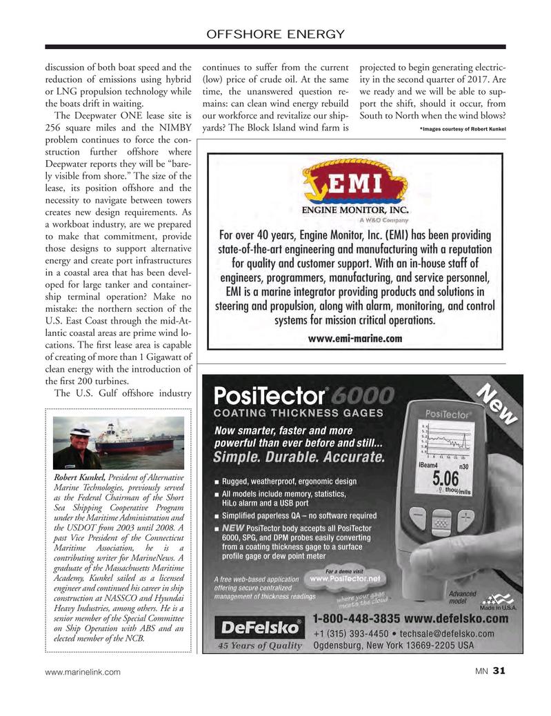 Marine News Magazine, page 31,  Oct 2016