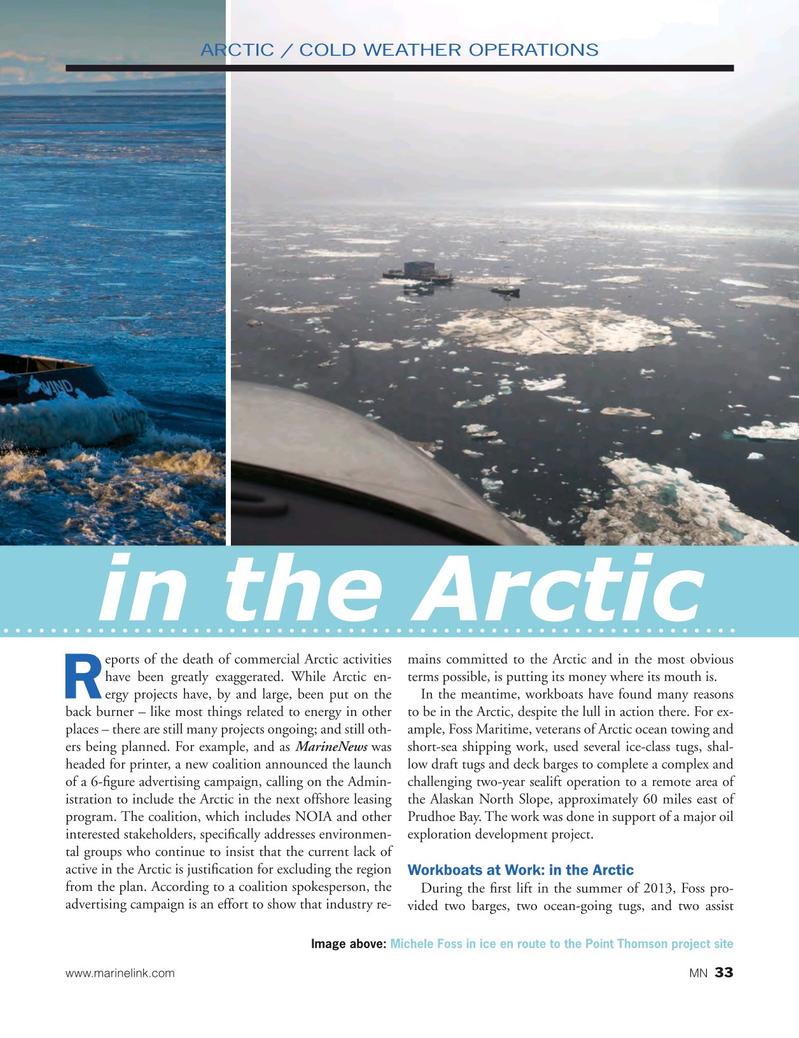 Marine News Magazine, page 33,  Oct 2016