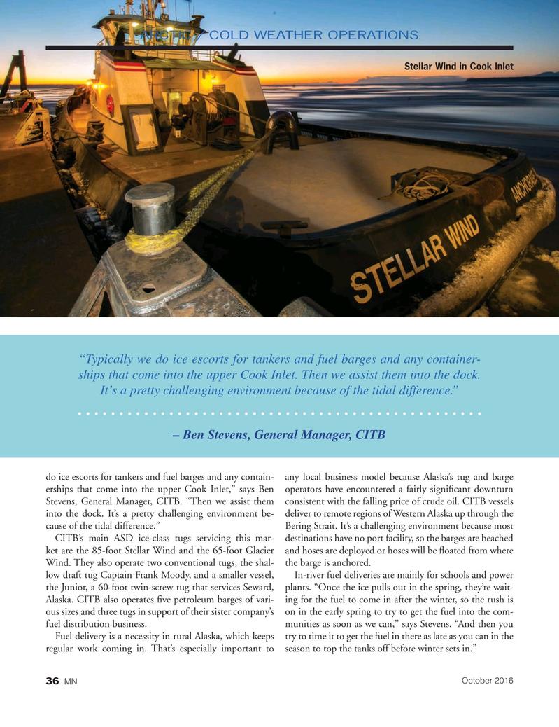 Marine News Magazine, page 36,  Oct 2016