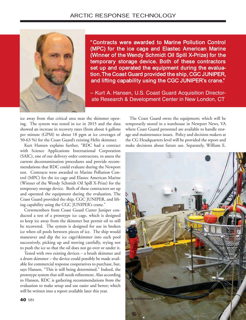 Marine News Magazine, page 40,  Oct 2016