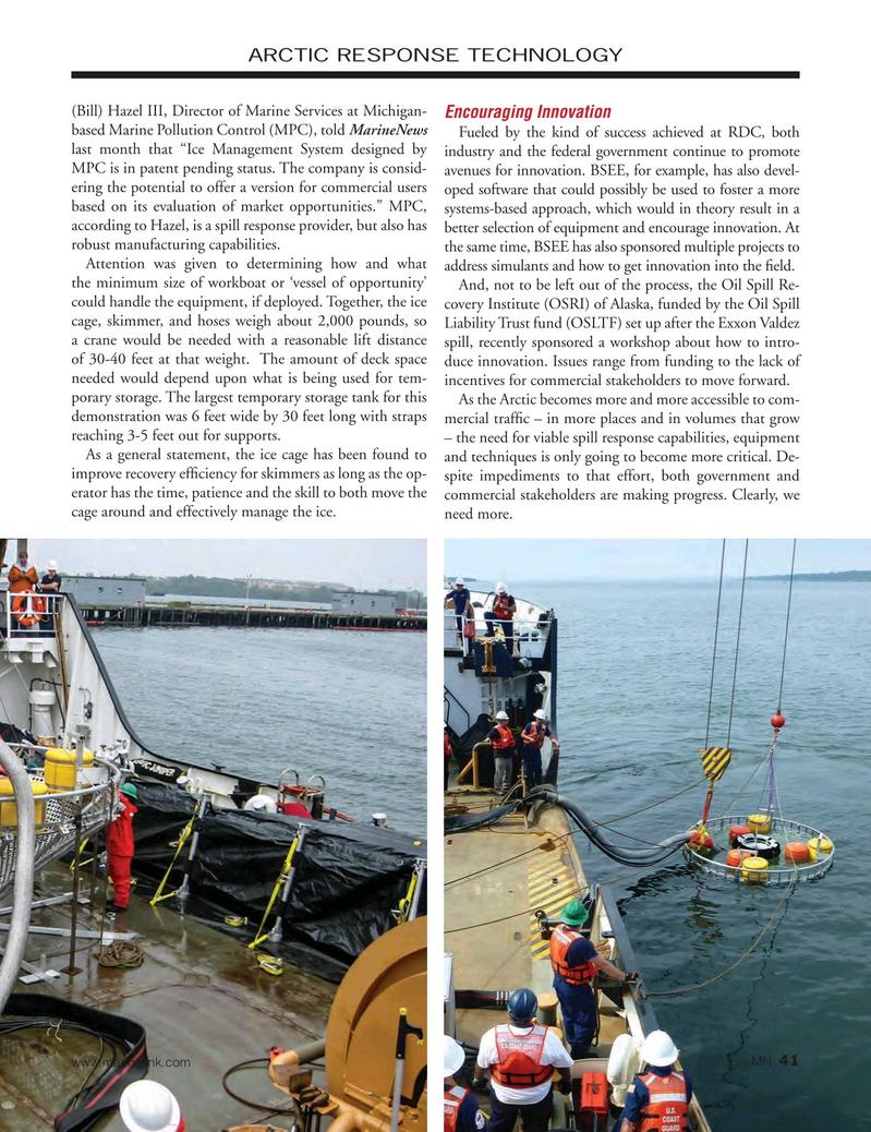 Marine News Magazine, page 41,  Oct 2016