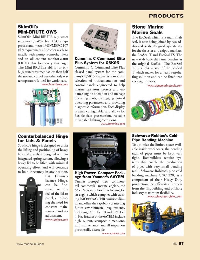 Marine News Magazine, page 57,  Oct 2016