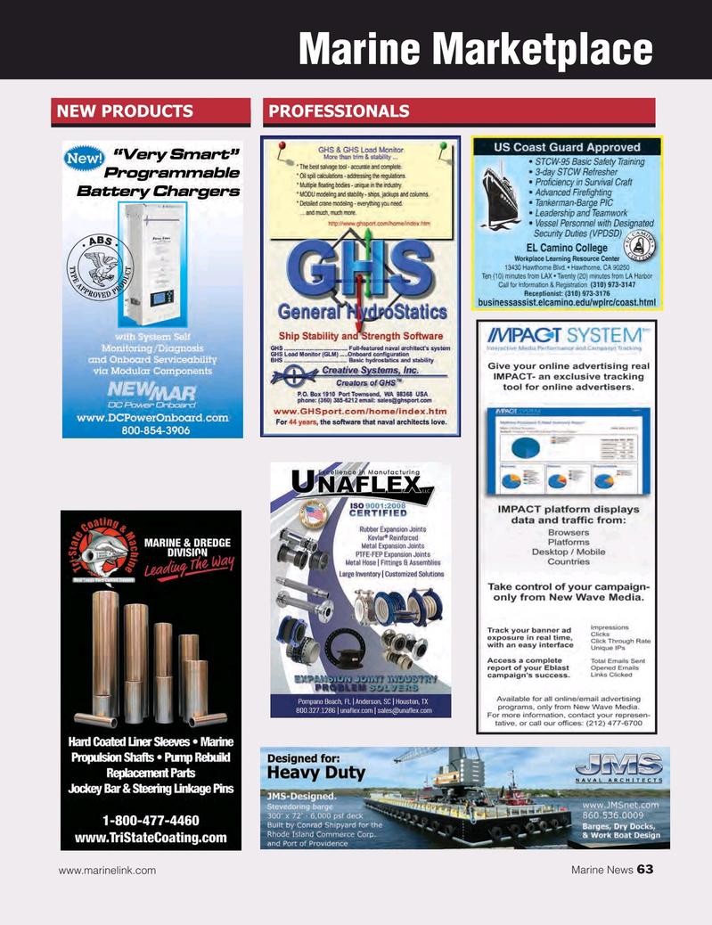 Marine News Magazine, page 63,  Oct 2016