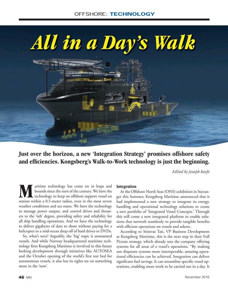 Marine News Magazine, page 46,  Nov 2016