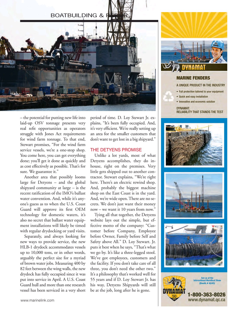 Marine News Magazine, page 65,  Nov 2016