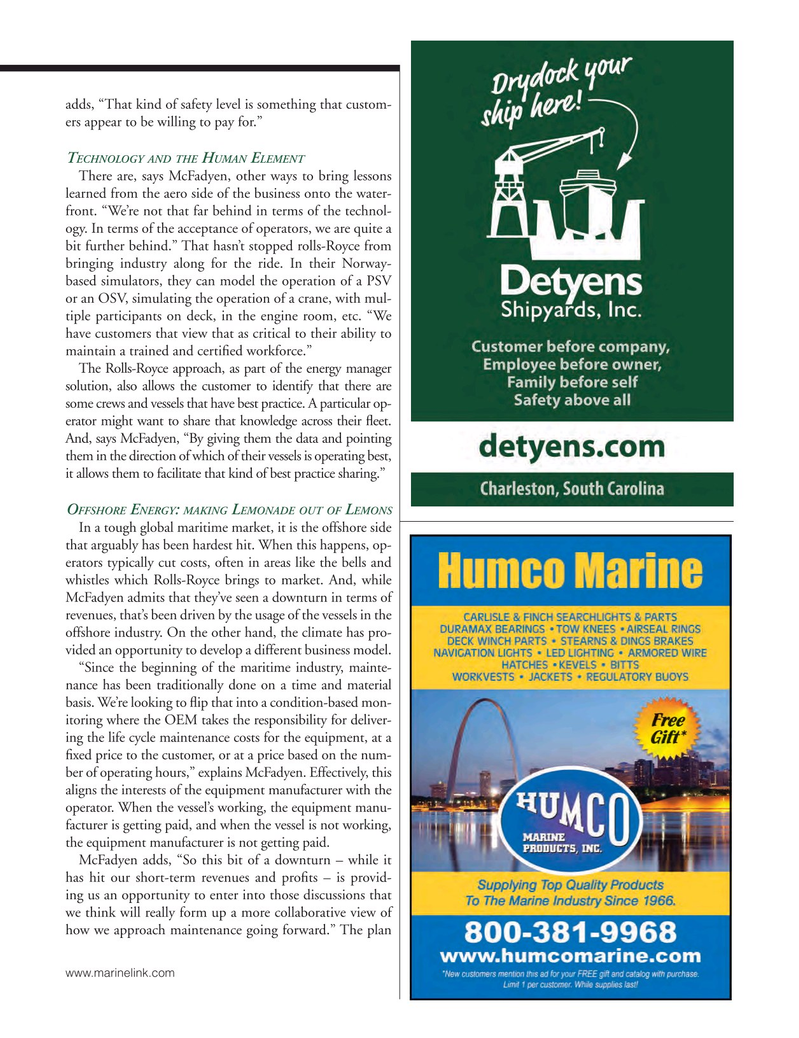 Marine News Magazine, page 71,  Nov 2016