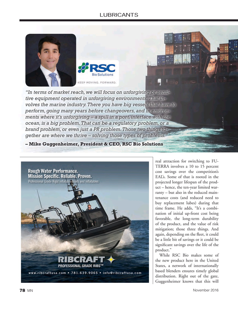Marine News Magazine, page 78,  Nov 2016