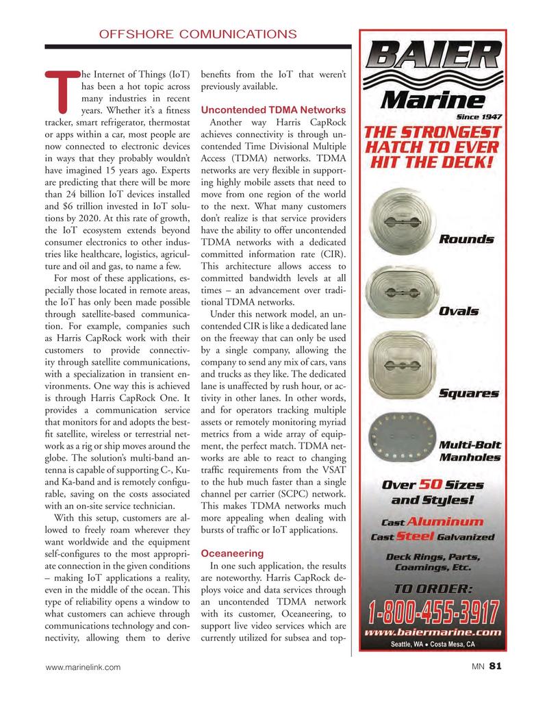 Marine News Magazine, page 81,  Nov 2016