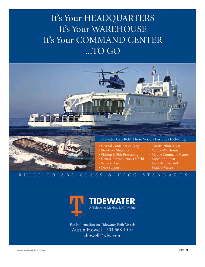 Marine News Magazine, page 9,  Jan 2017