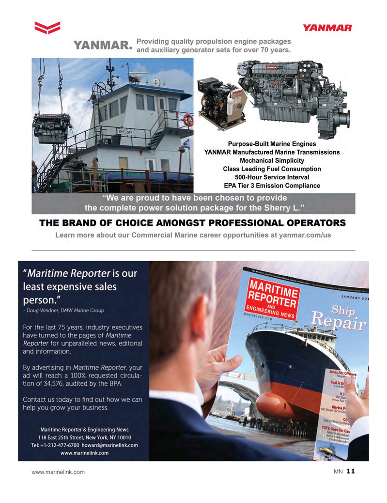 Marine News Magazine, page 11,  Jan 2017