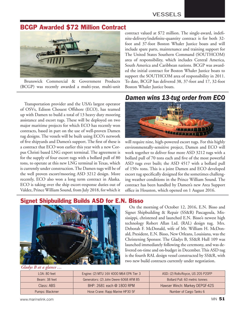 Marine News Magazine, page 51,  Jan 2017