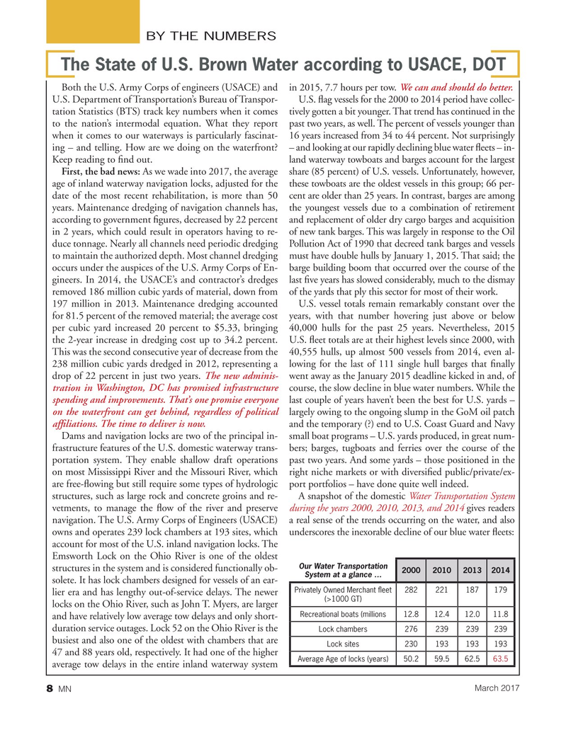Marine News Magazine, page 8,  Mar 2017