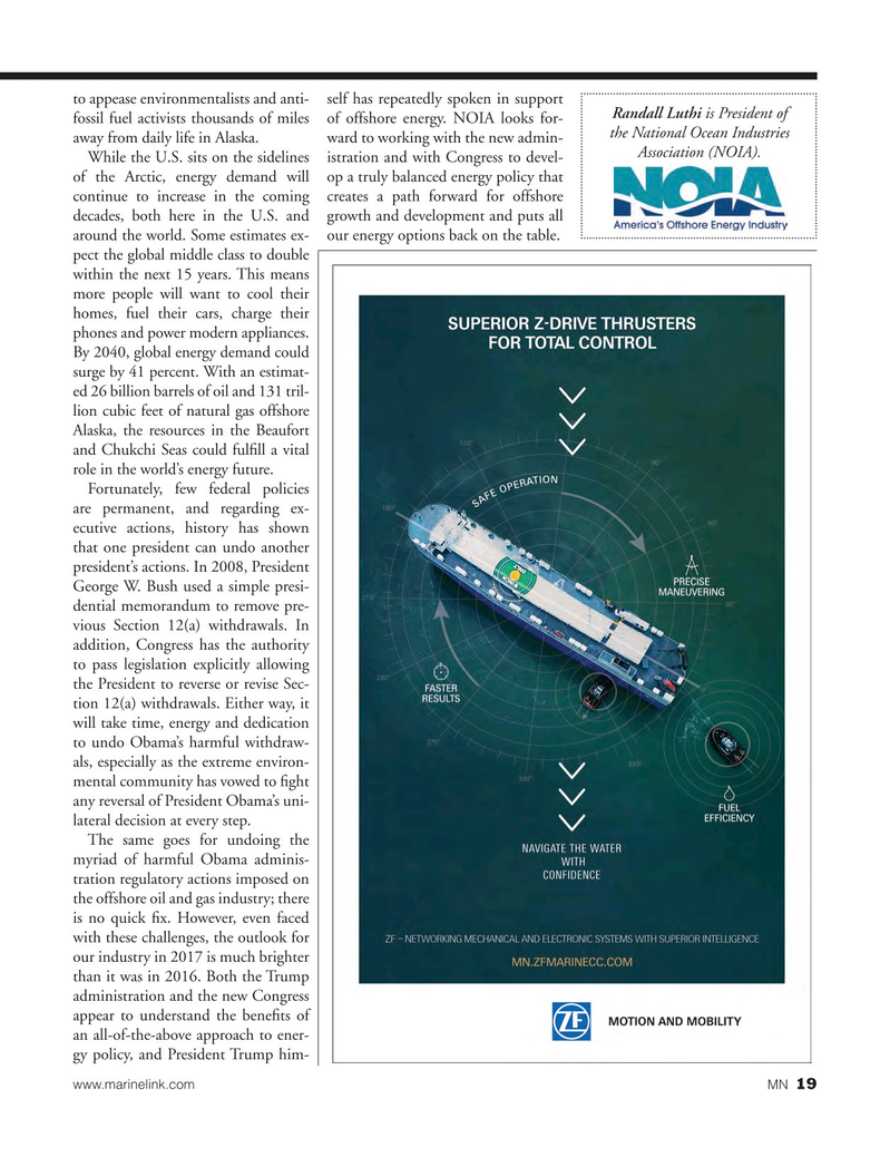 Marine News Magazine, page 19,  Mar 2017