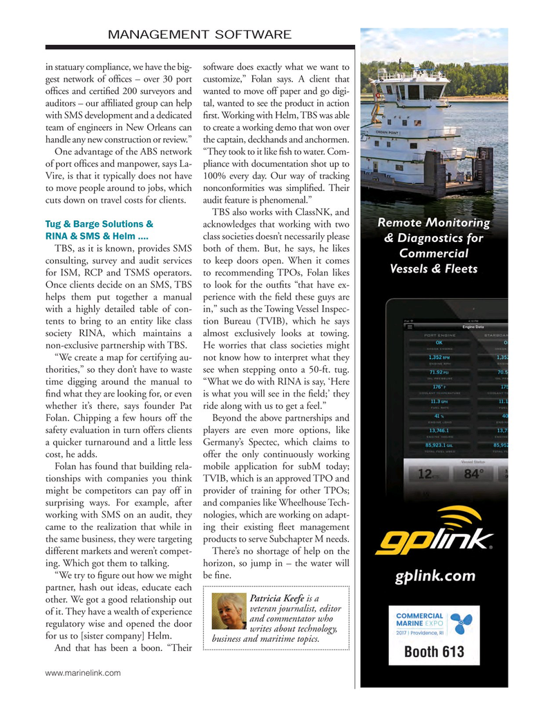 Marine News Magazine, page 37,  Mar 2017