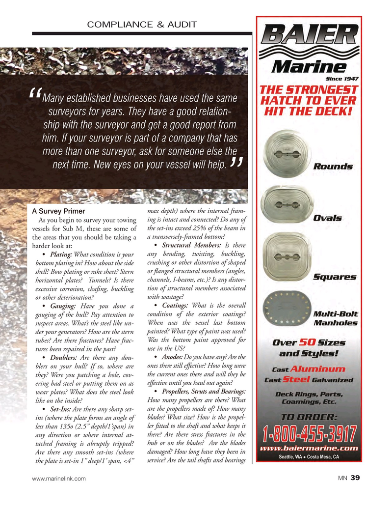 Marine News Magazine, page 39,  Mar 2017