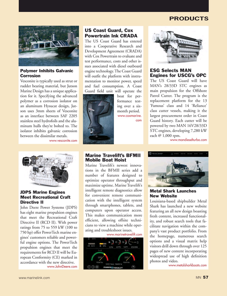 Marine News Magazine, page 57,  Mar 2017