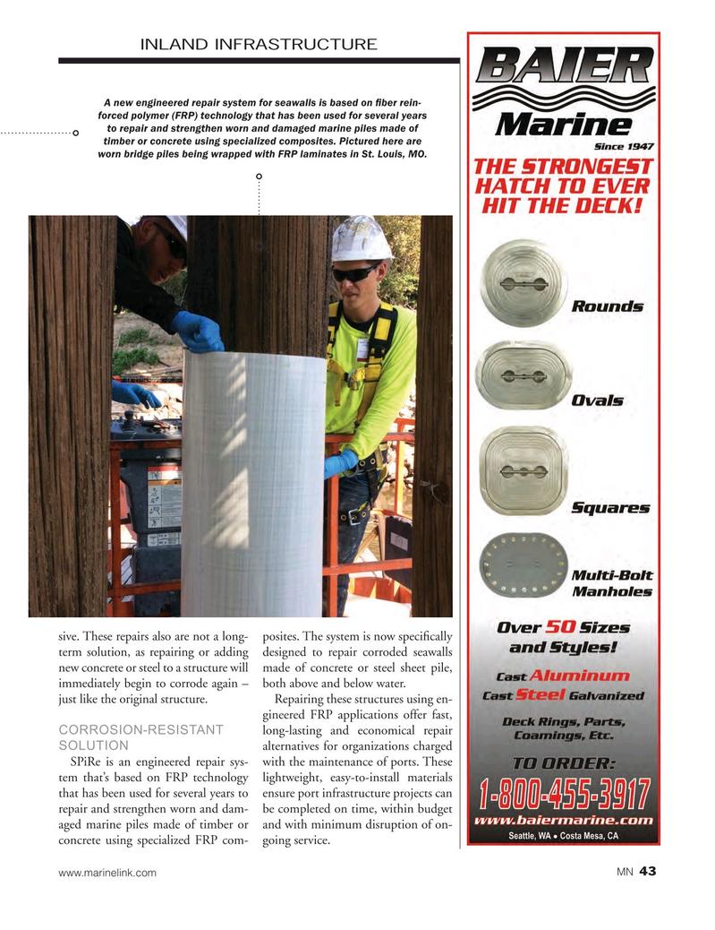 Marine News Magazine, page 43,  May 2017