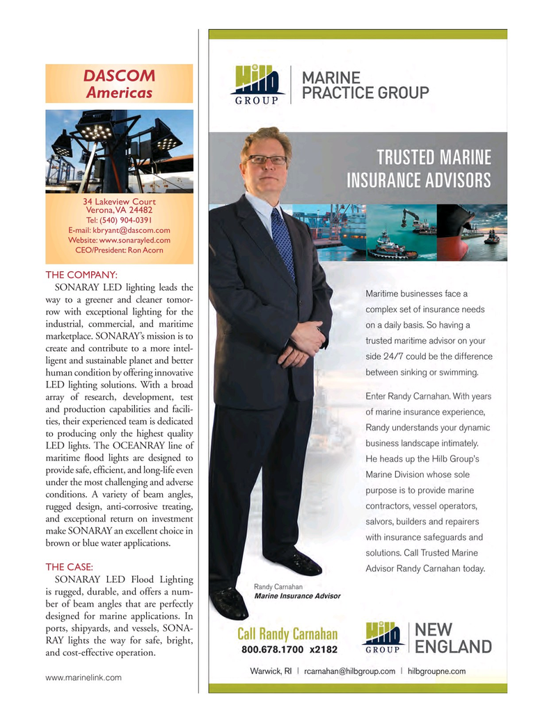 Marine News Magazine, page 23,  Aug 2017