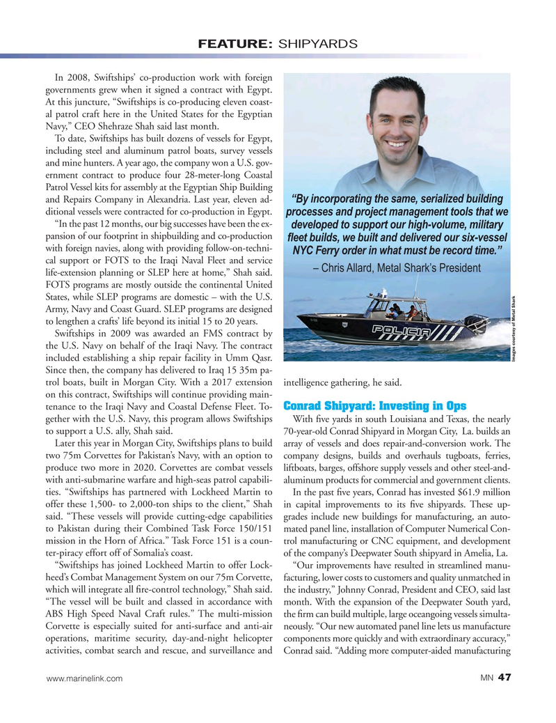 Marine News Magazine, page 47,  Aug 2017