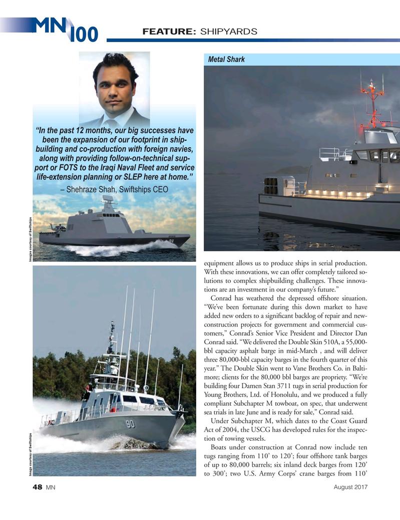 Marine News Magazine, page 48,  Aug 2017