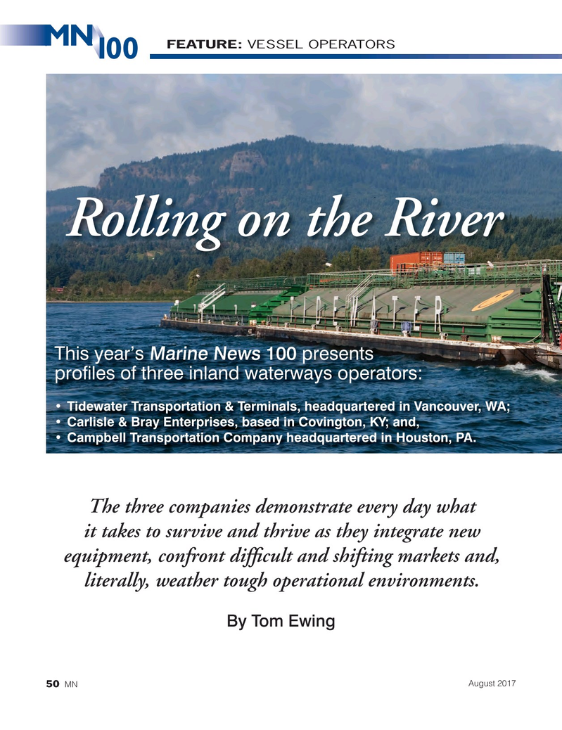 Marine News Magazine, page 50,  Aug 2017