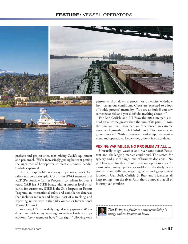 Marine News Magazine, page 57,  Aug 2017