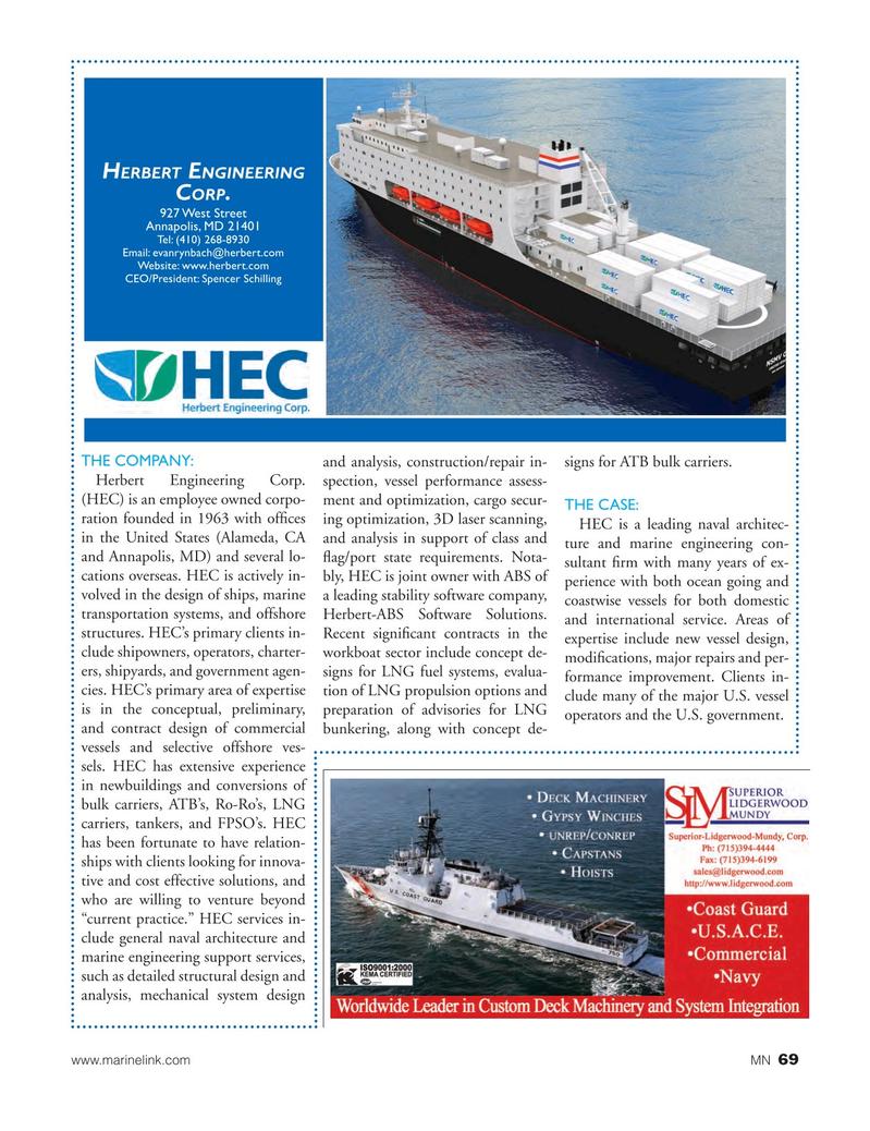 Marine News Magazine, page 69,  Aug 2017