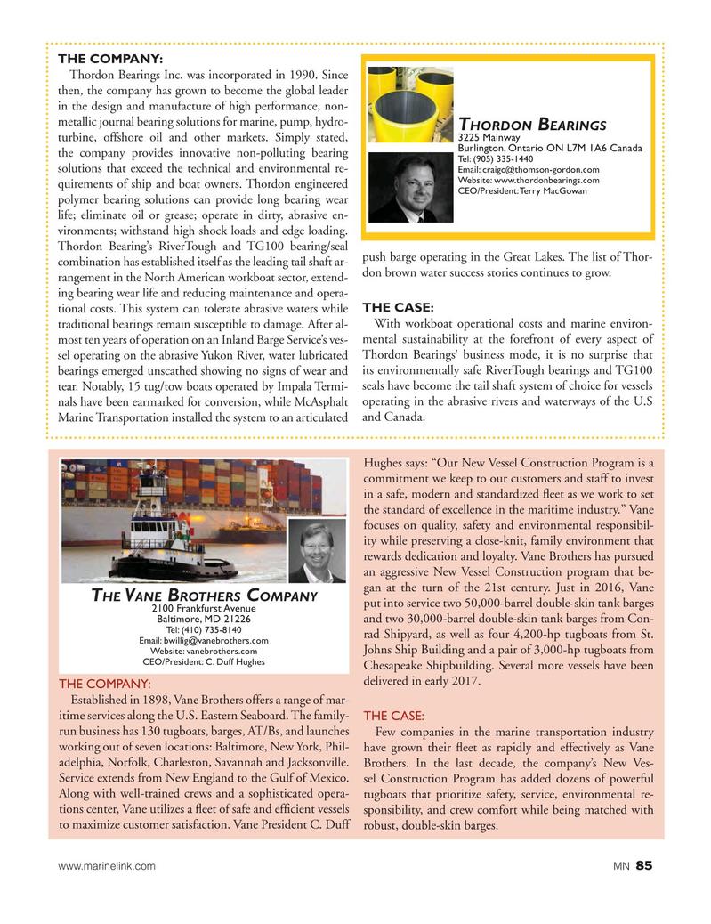 Marine News Magazine, page 85,  Aug 2017