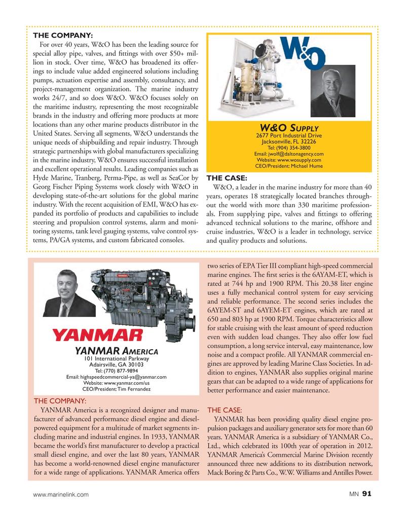 Marine News Magazine, page 91,  Aug 2017