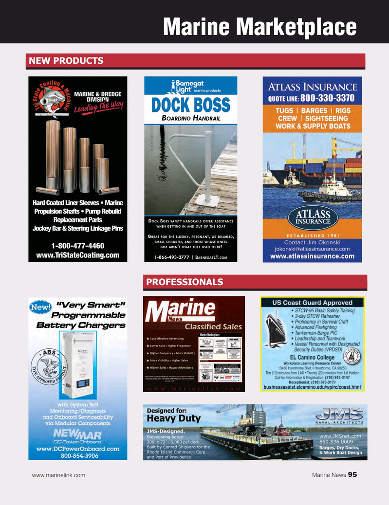 Marine News Magazine, page 95,  Aug 2017