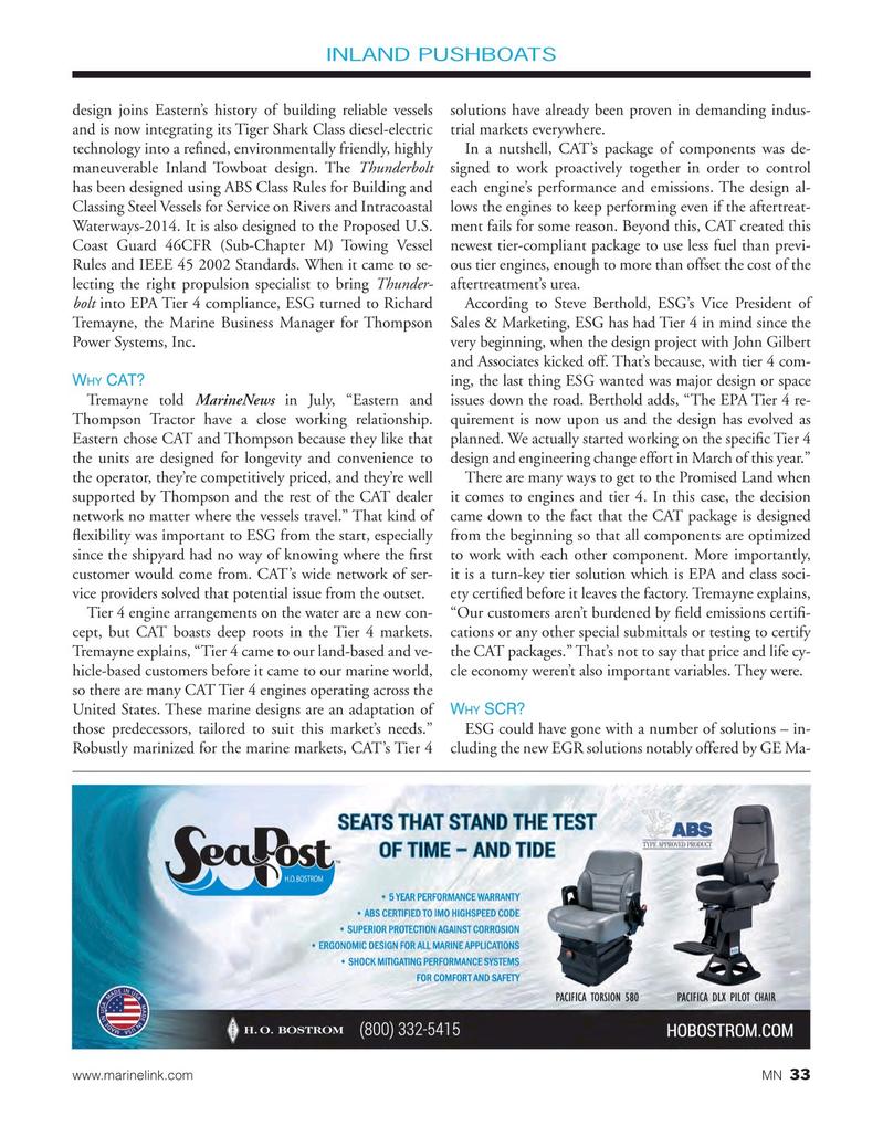 Marine News Magazine, page 33,  Sep 2017