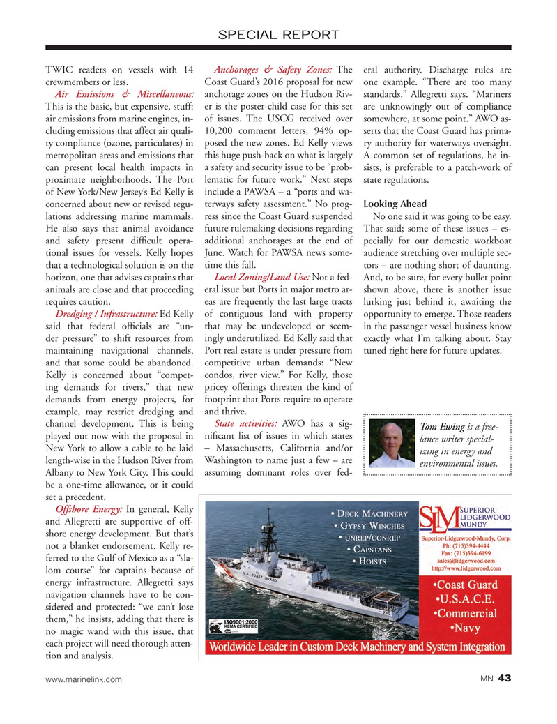 Marine News Magazine, page 43,  Sep 2017