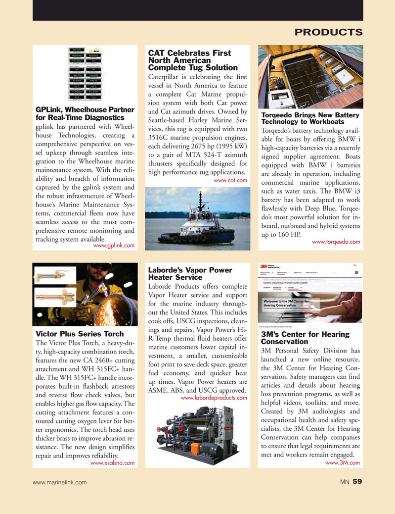 Marine News Magazine, page 59,  Sep 2017