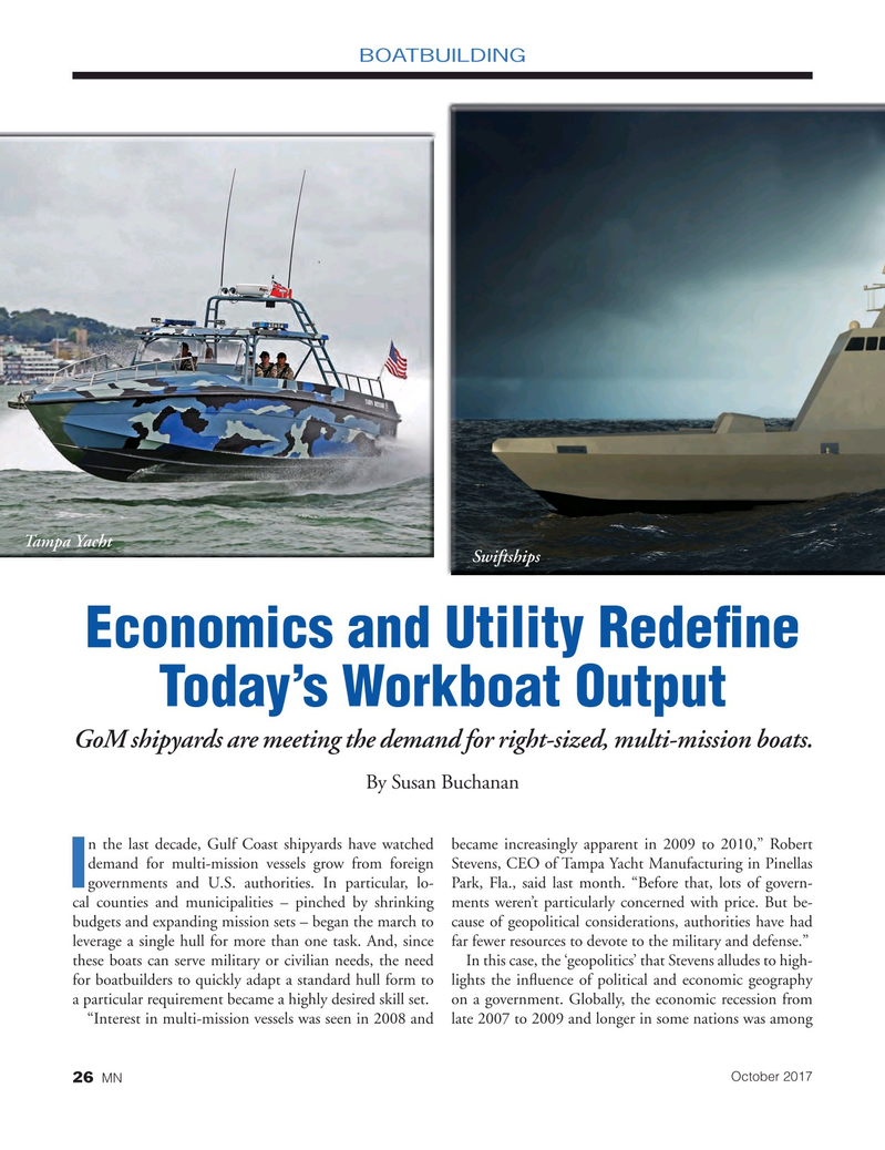 Marine News Magazine, page 26,  Oct 2017