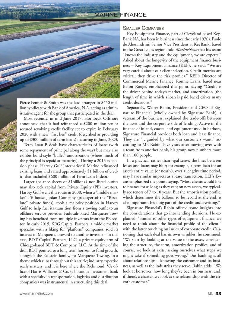 Marine News Magazine, page 33,  Oct 2017