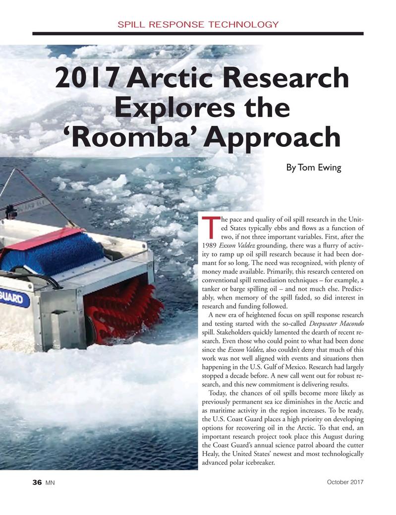 Marine News Magazine, page 36,  Oct 2017