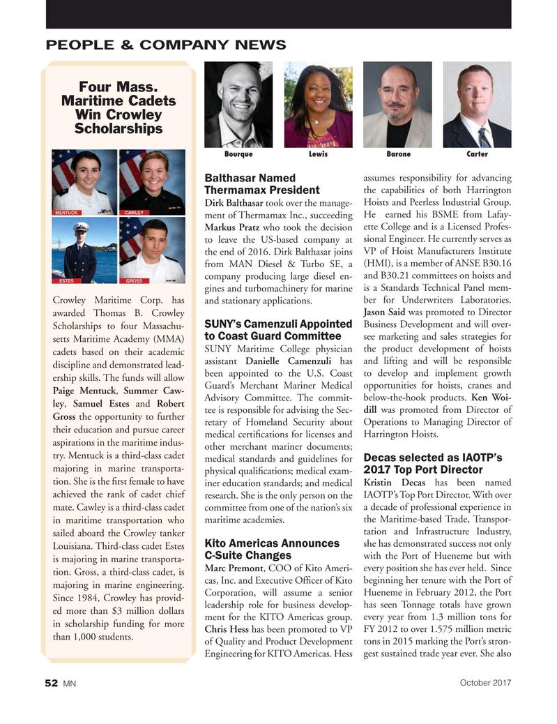 Marine News Magazine, page 52,  Oct 2017