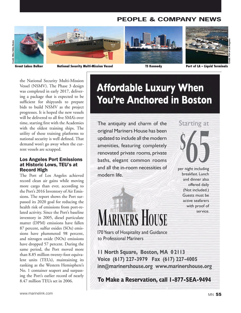 Marine News Magazine, page 55,  Oct 2017