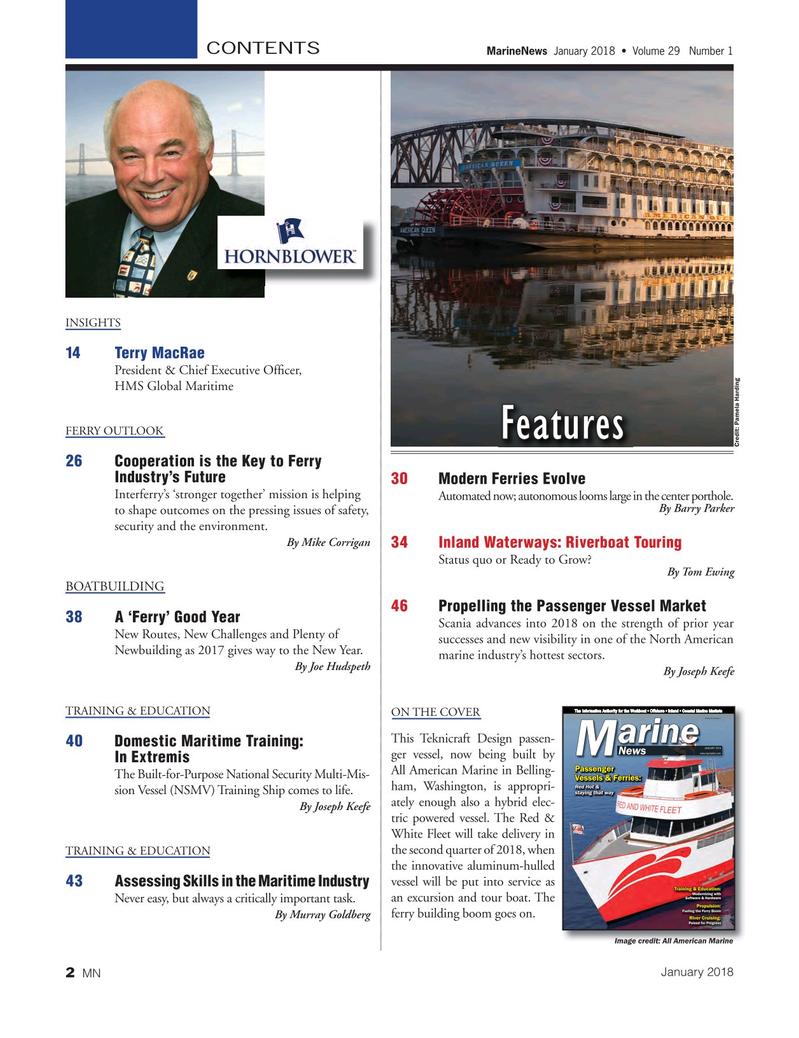 Marine News Magazine, page 2,  Jan 2018