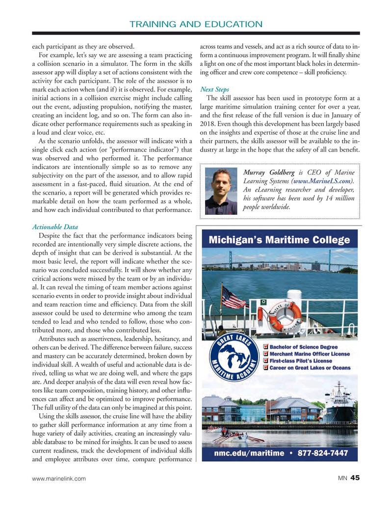 Marine News Magazine, page 45,  Jan 2018
