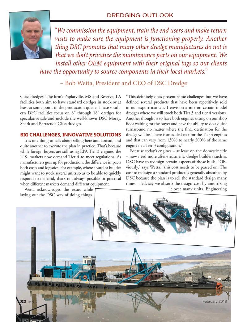 Marine News Magazine, page 32,  Feb 2018