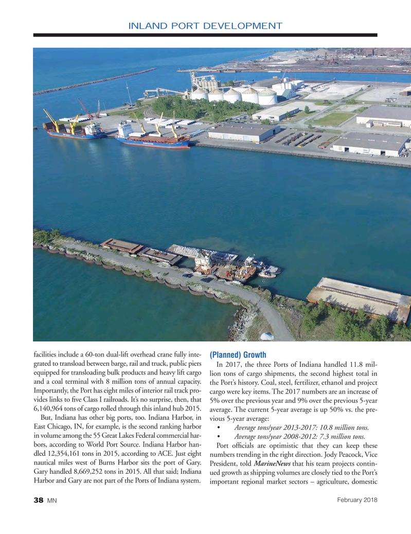 Marine News Magazine, page 38,  Feb 2018