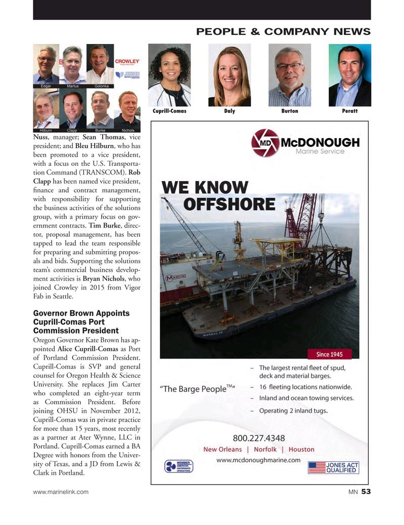 Marine News Magazine, page 53,  Feb 2018
