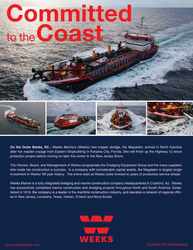 Marine News Magazine, page 3rd Cover,  Feb 2018