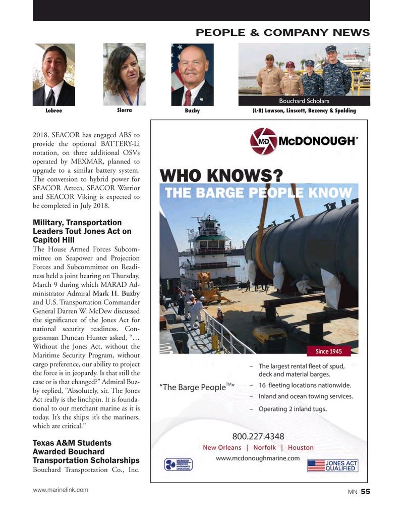 Marine News Magazine, page 55,  Apr 2018