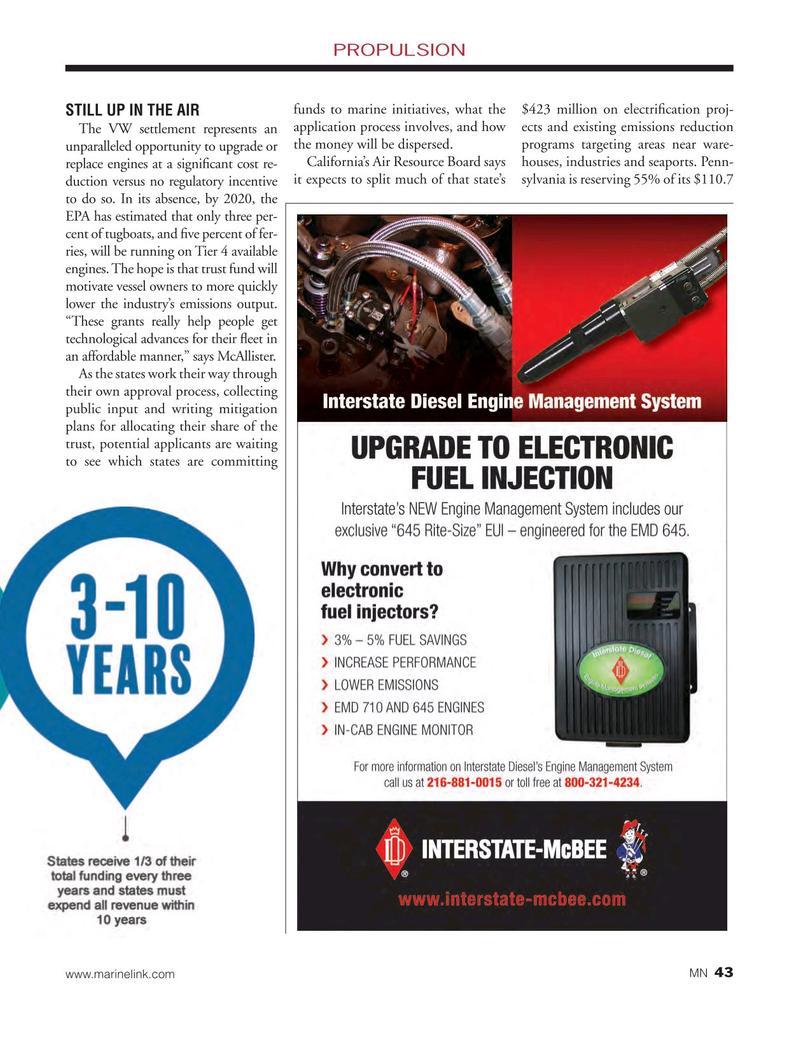 Marine News Magazine, page 43,  May 2018