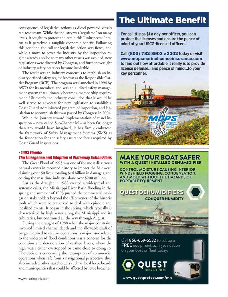 Marine News Magazine, page 51,  May 2018