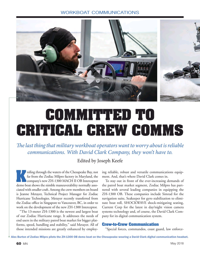Marine News Magazine, page 60,  May 2018